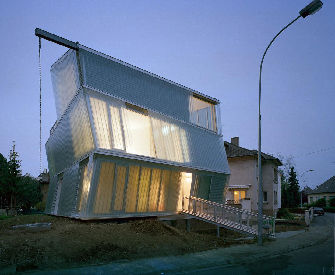 Maison go by p riph riques architectes housevariety for Architecte thionville