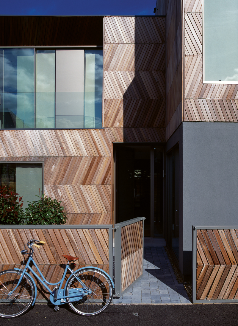Herringbone Houses / Alison Brooks Architects