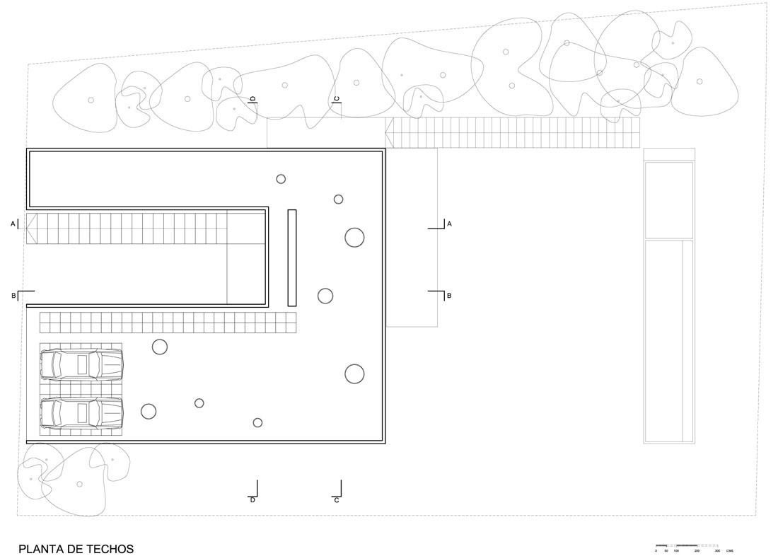 \.PSF.HomePUBLICACIONESCASA GUTHRIEPLANOSTECHOS.dwg Model roof plan