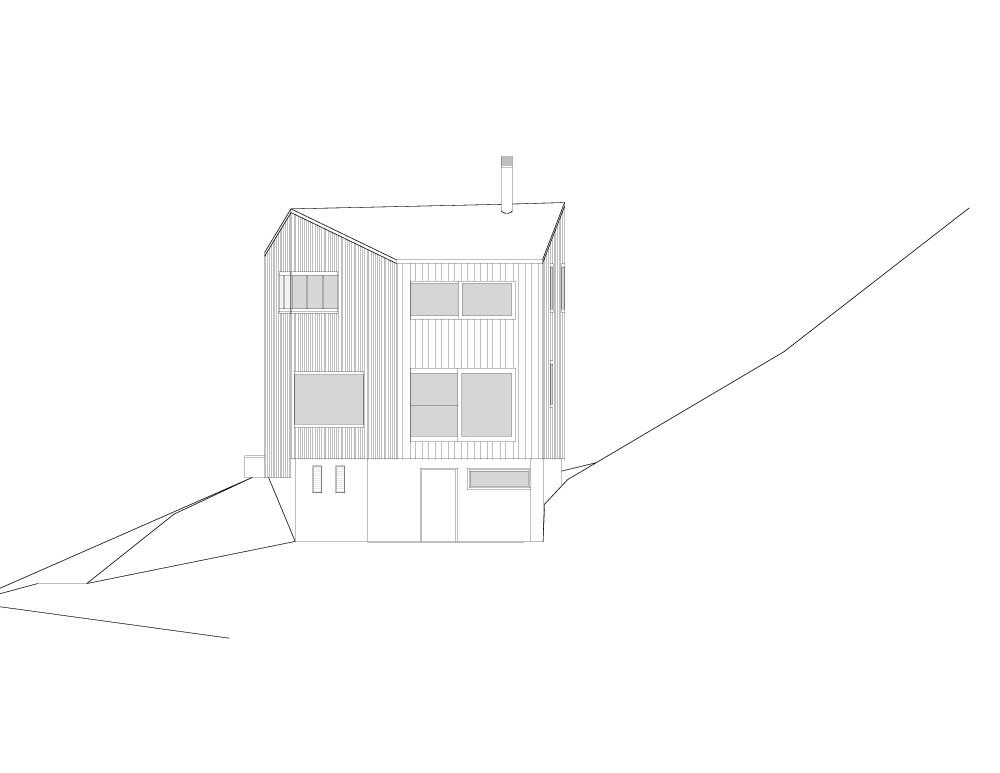rigi-elevacion4 north-east elevation