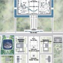PekinPressAGL  dec 2001 site plan