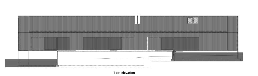 back-elevation back elevation