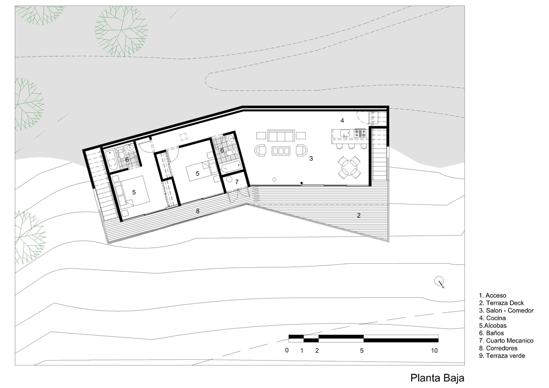 dibujos-refugio-2-01 shelter 02 ground plan