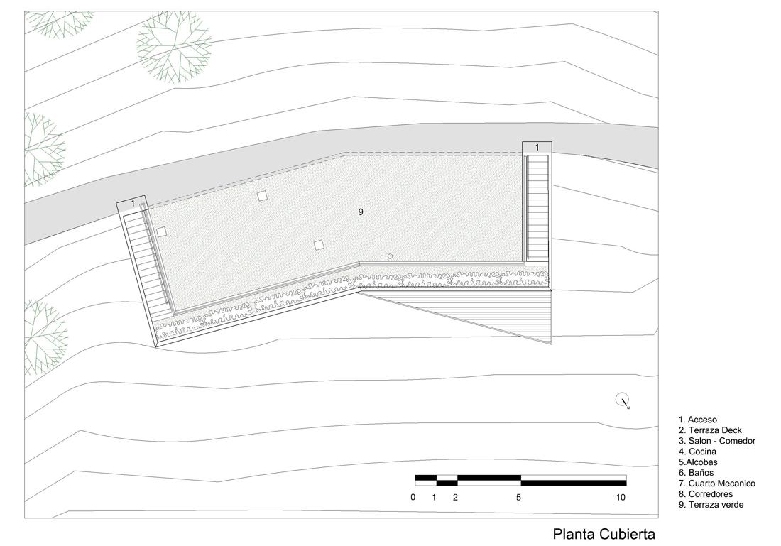 dibujos-refugio-2-02 shelter 02 roof plan