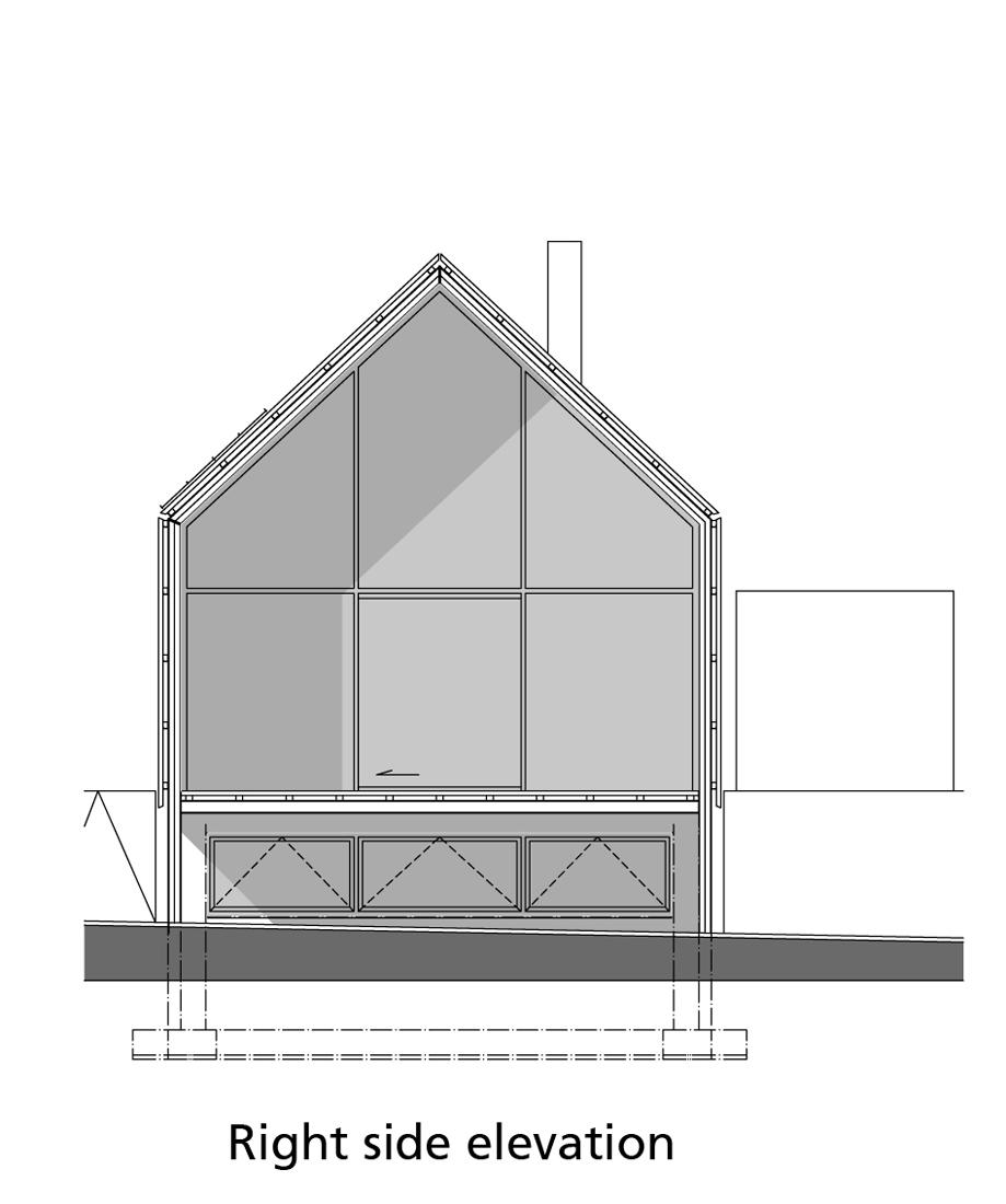 right-side-elevation right side elevation