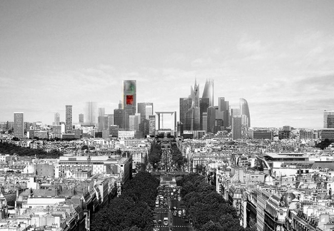 Winner announced for the Tour La Signal at La Defense, Paris: Ateliers Jean Nouvel