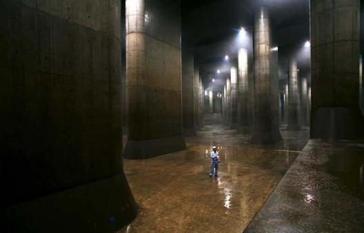 Impressive Storm Sewer System / Saitama, Japan