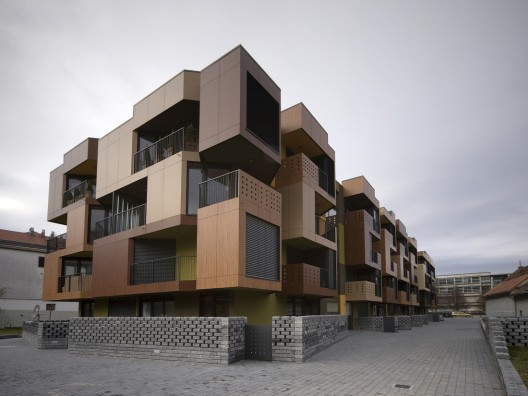 Tetris Apartments / OFIS arhitekti | ArchDaily