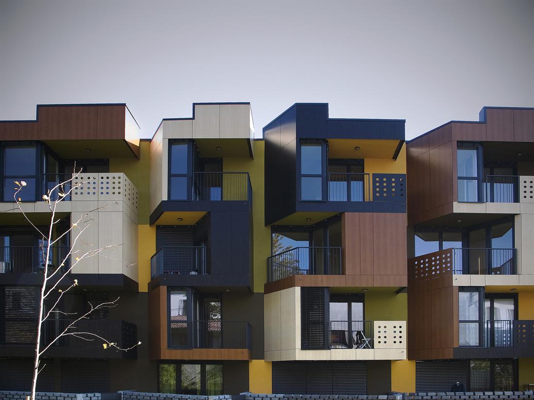 Apartment facade apartment design ideas for Fachadas de apartamentos modernos