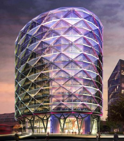 New sustainable building for London by Sheppard Robson