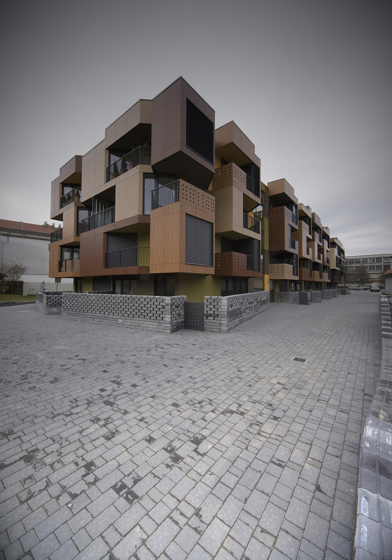 Habitatge i ciutat tetris apartments ofis arhitekti for Ofis arhitekti