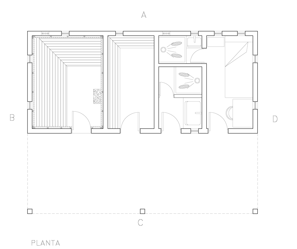 Architecture Photography 121776471 Sauna Plan 5966