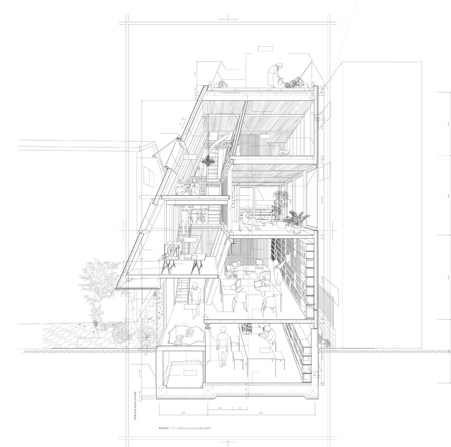 White House together with St Pauls also Medievalarchitecture together with Roof Framing Basics in addition Atelier Bow Wow Via Archdaily. on cathedral house plans