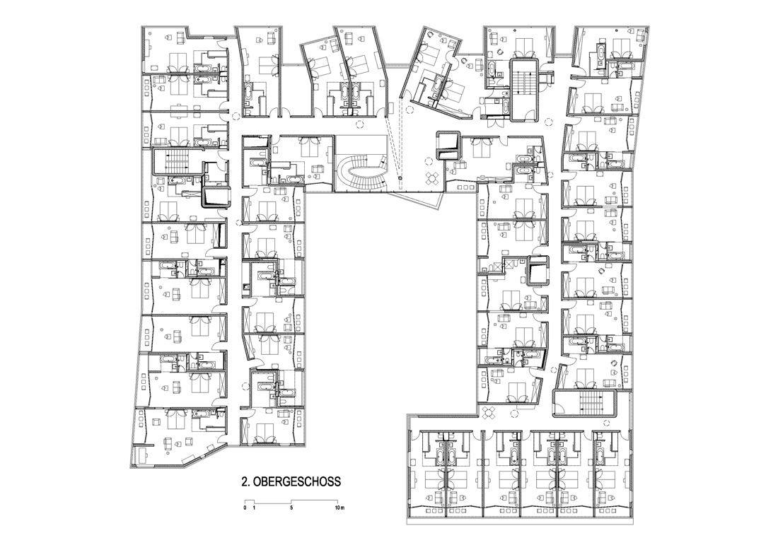 hotel building floor plans images