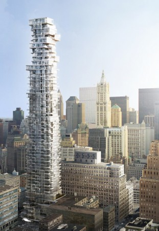 56 Leonard Street, New York / Herzog &amp; de Meuron