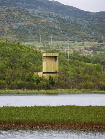 Bird-watching towers