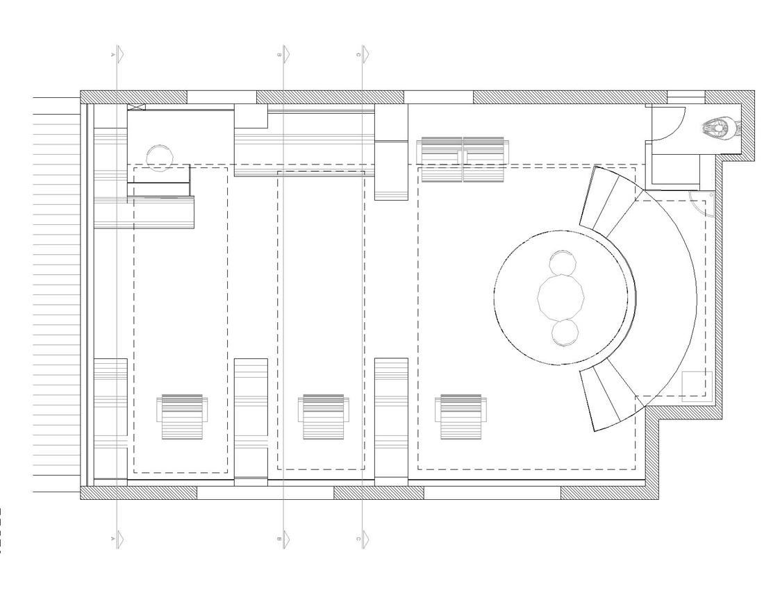 Barber shop floor plan layout joy studio design gallery for Shop design plans