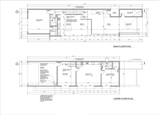 212 - 2 - Plans A2.0 (1) lower & first floor plan