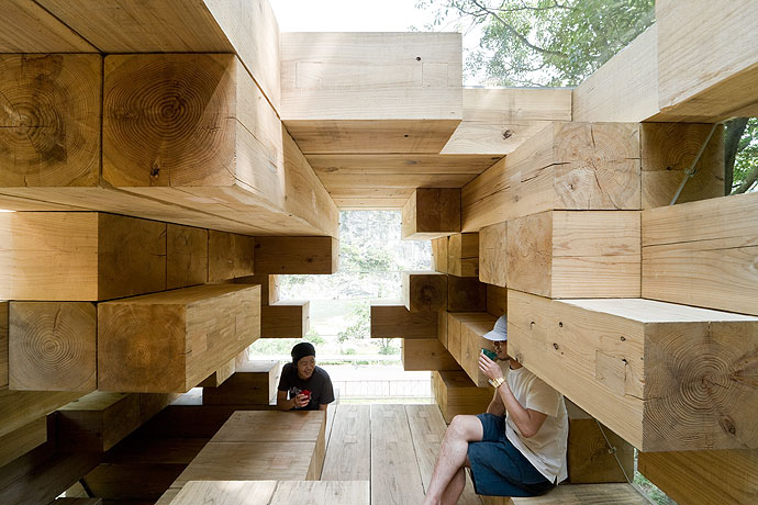 Final Wooden House / Sou Fujimoto