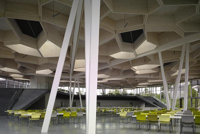 Campus Restaurant And Event Space Barkow Leibinger