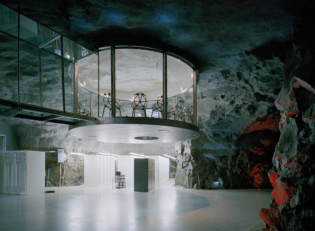 Pionen White Mountain Albert France Lanord Architects
