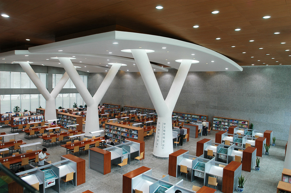 499504623 chongqing library c2ae zhihui gu int reading for Library designs interior