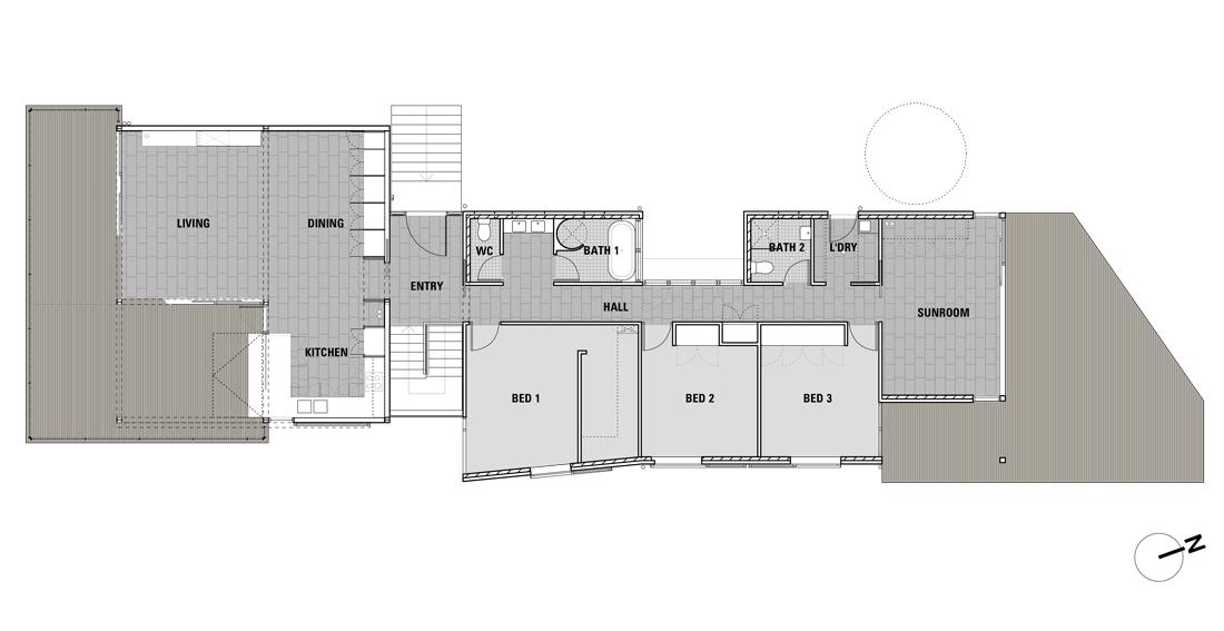 Plan-Ground-Text ground floor plan