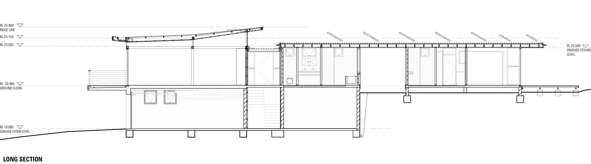 Dwg 11-Sec-Long long section
