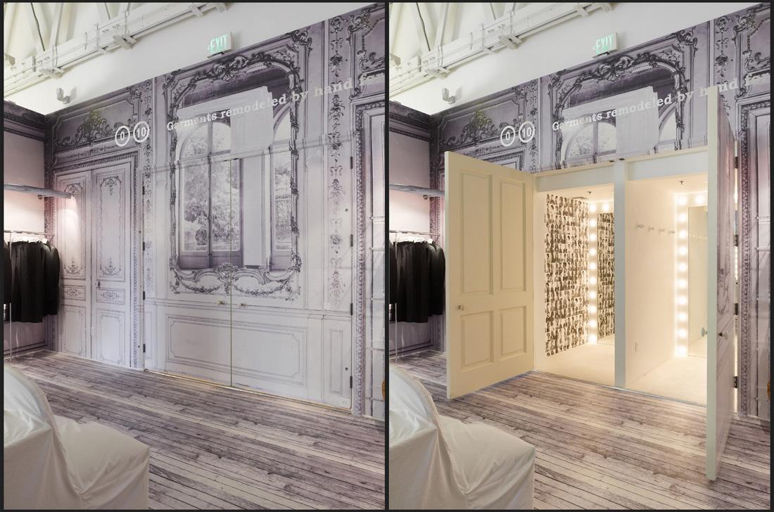 Mameg maison martin margiela johnston marklee for Boutique decoration maison