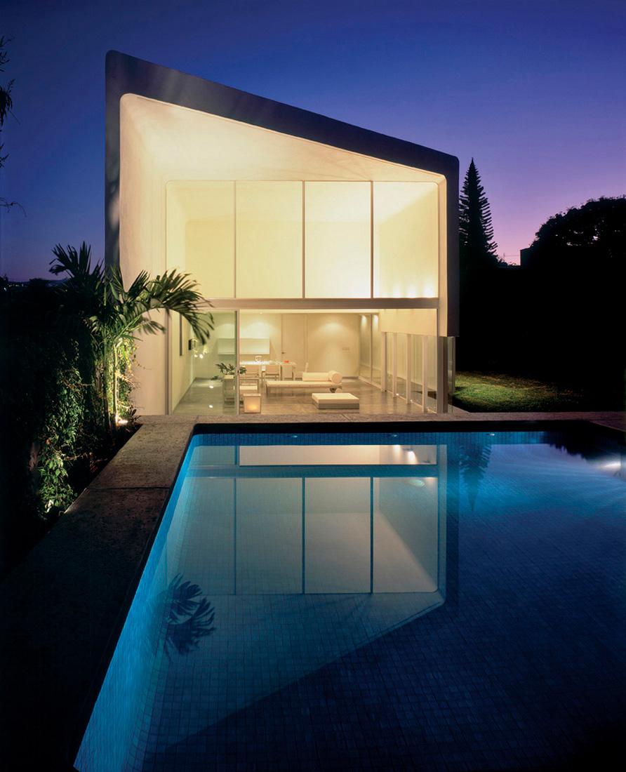 Suntro house jorge hernandez de la garza archdaily - Casas de arquitectos ...
