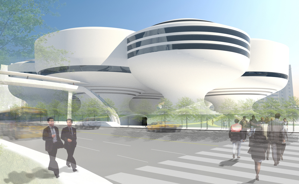 Abalos+Sentkiewicz project for the Taipei Performing Arts Centre
