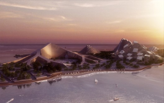 Zira Island Carbon Neutral Master Plan / BIG Architects
