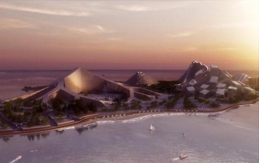 گروه بیگ ، معماری ، چزیره زیرا ، جزیره zira ، big