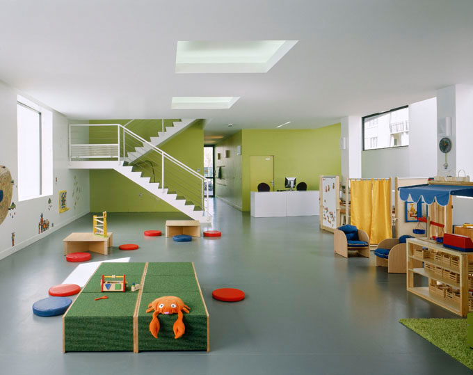 New use for an existing building design of a children