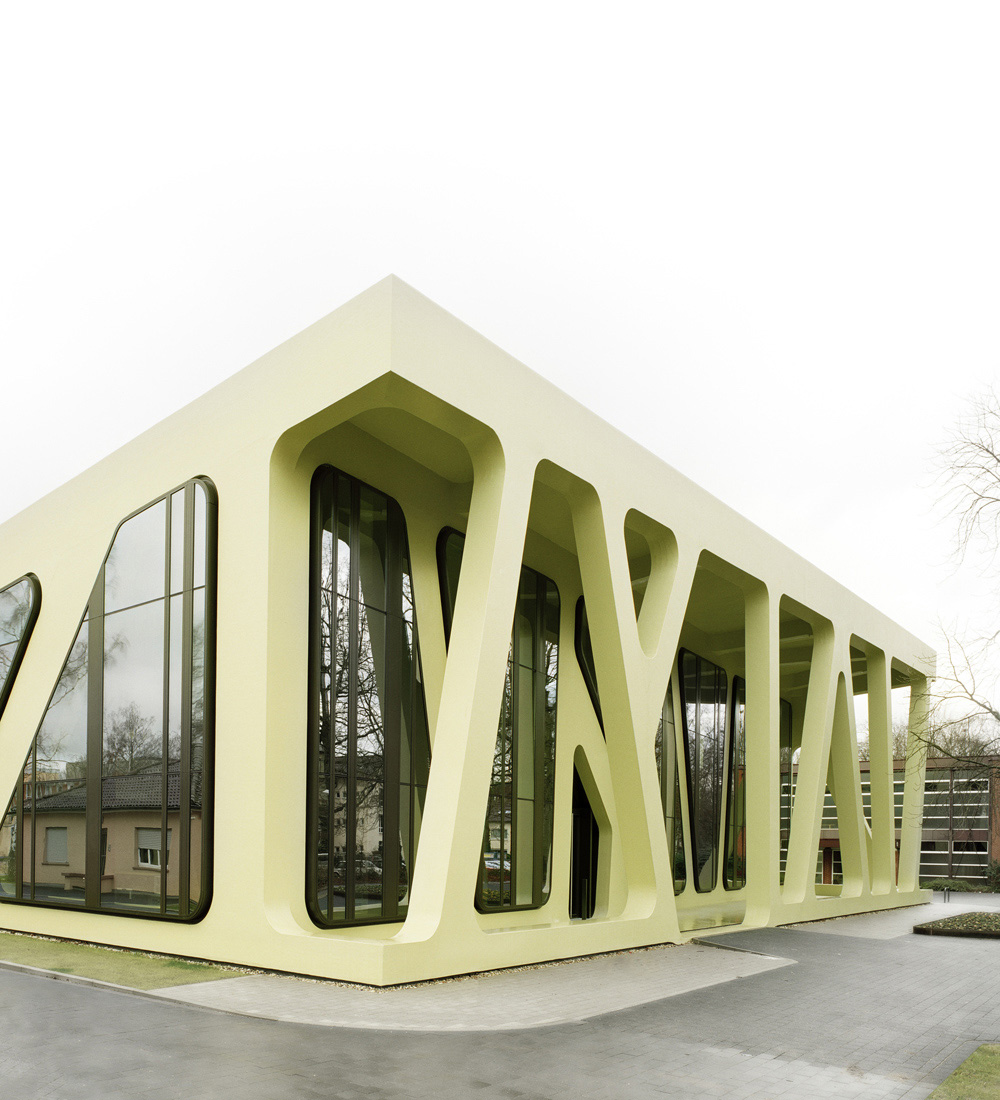 Secret Architecture Mensa Moltke J Mayer H Architects