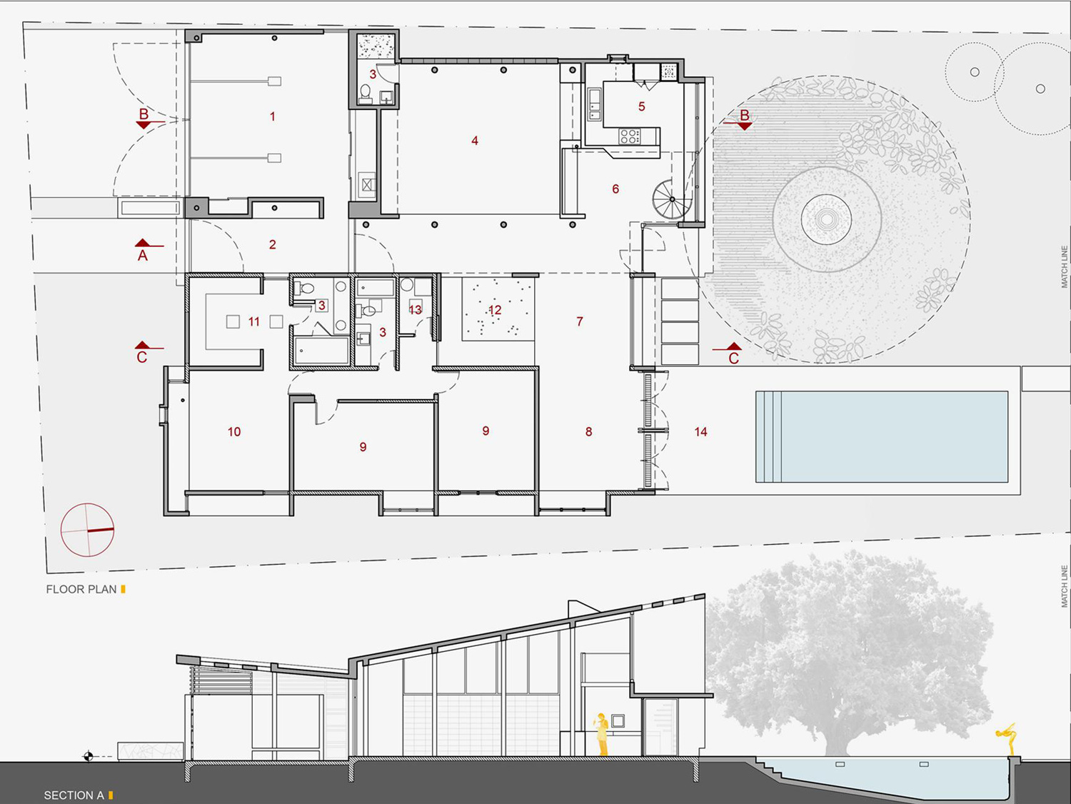 Architecture Photography 98275009 Floor Plan Section 11431