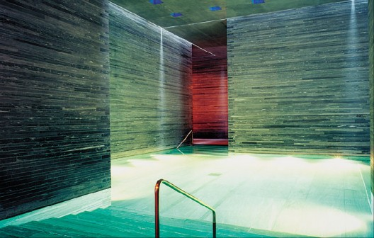 ONE OF THE INDOOR POOLS