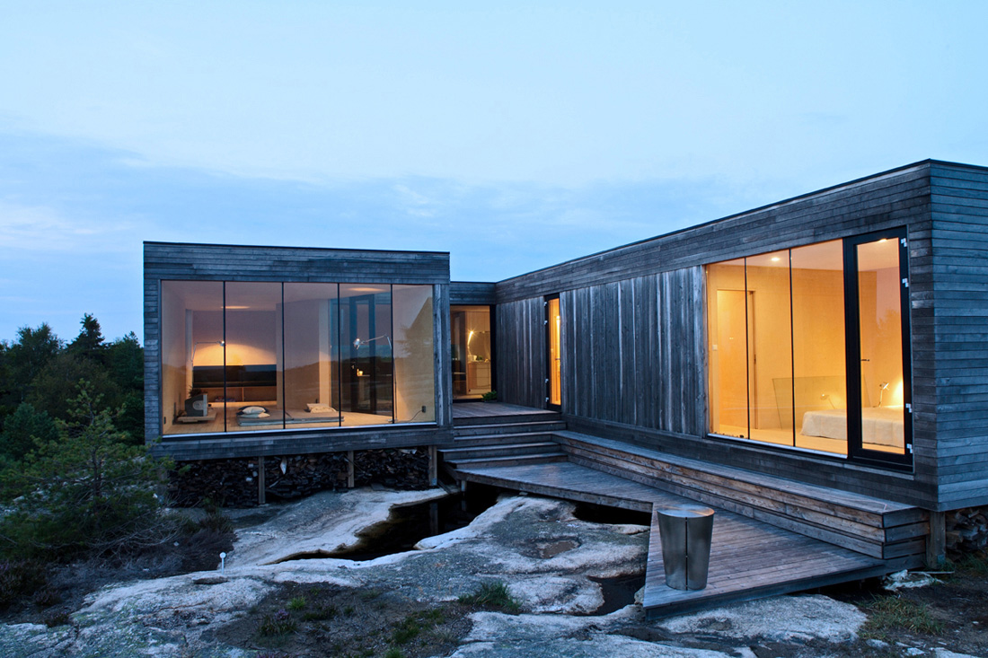 Summerhouse Inside Out Hvaler / Reiulf Ramstad Architects