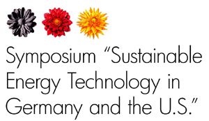 Symposium: &#8220;Sustainable Energy Technology in Germany and USA&#8221;