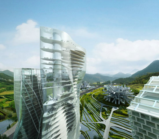 "International firms invited by MAD to design ""Huaxi City Centre"" in China"