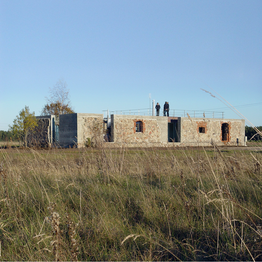 House of Ruins (Drupas) / NRJA