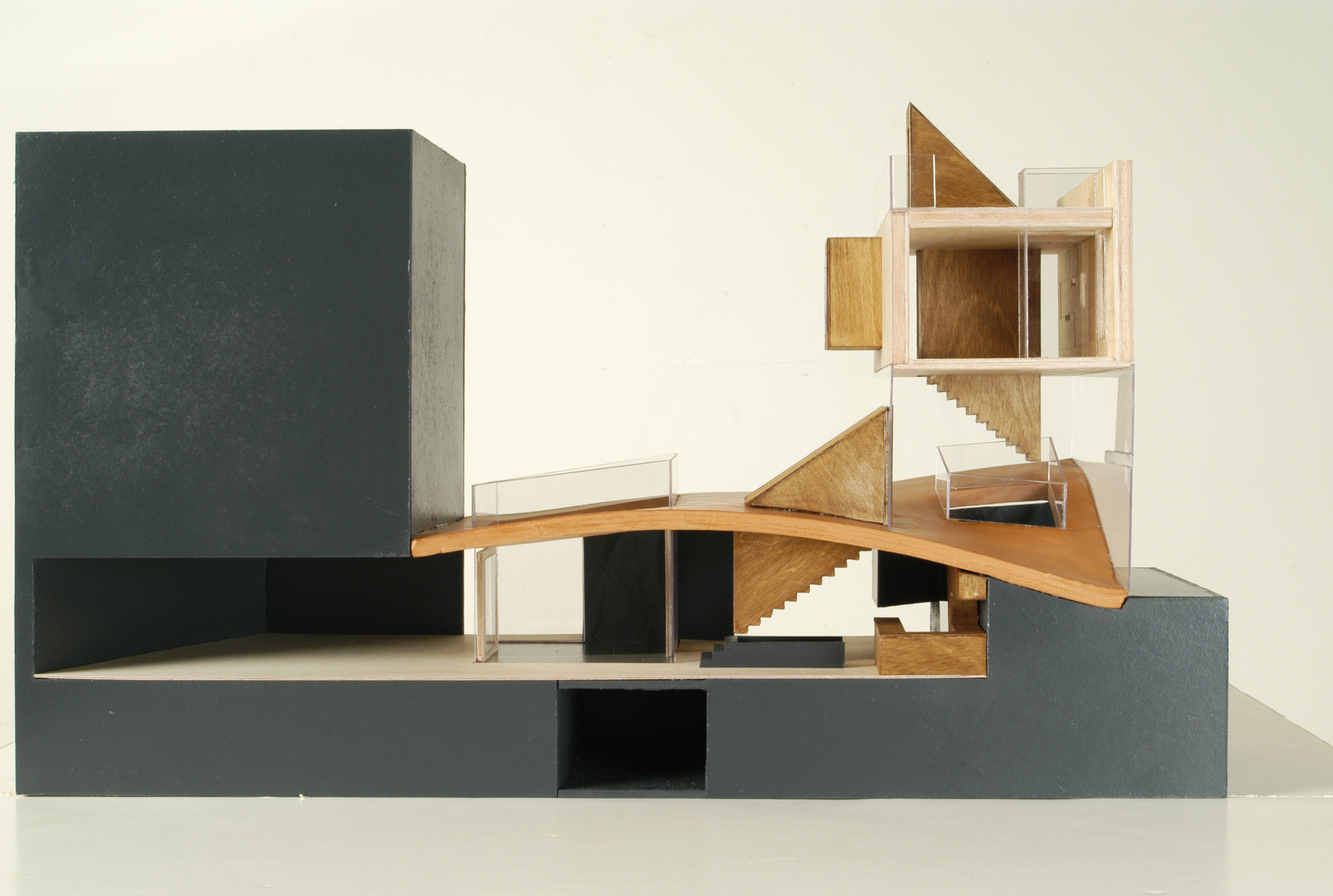 Galvani house christian pottgiesser for Maquette stand