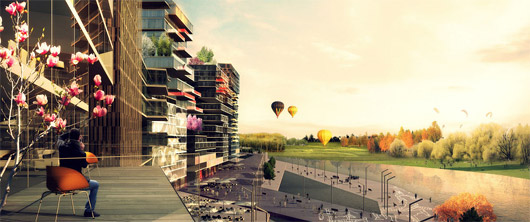 "Archi5 wins ""Nya Årstafältet"" Master Plan Competition for Stockholm"