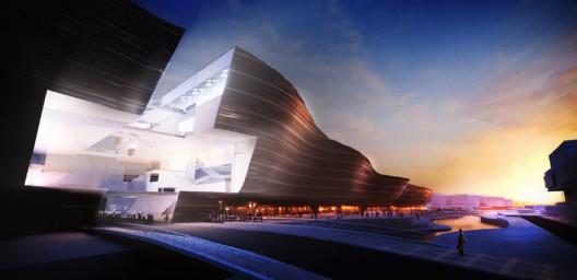 Munch Museum - Wave Perspective Figure - CODE Arkitektur