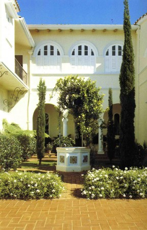 Concept and Precedents - Spanish revival Courtyard typology