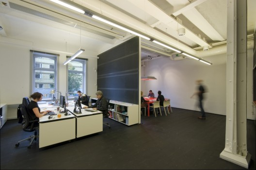Office Interior In A Former Bicycle Factory Rotstein