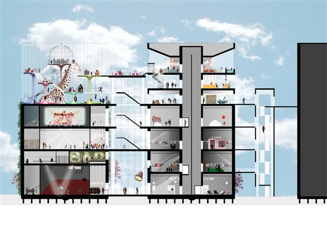 Arons en Gelauff architects wins design competition: Annie MG Schmidt House