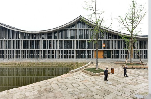 New Academy of Art in Hangzhou / Wang Shu, Amateur Architecture Studio (1) © Iwan Baan