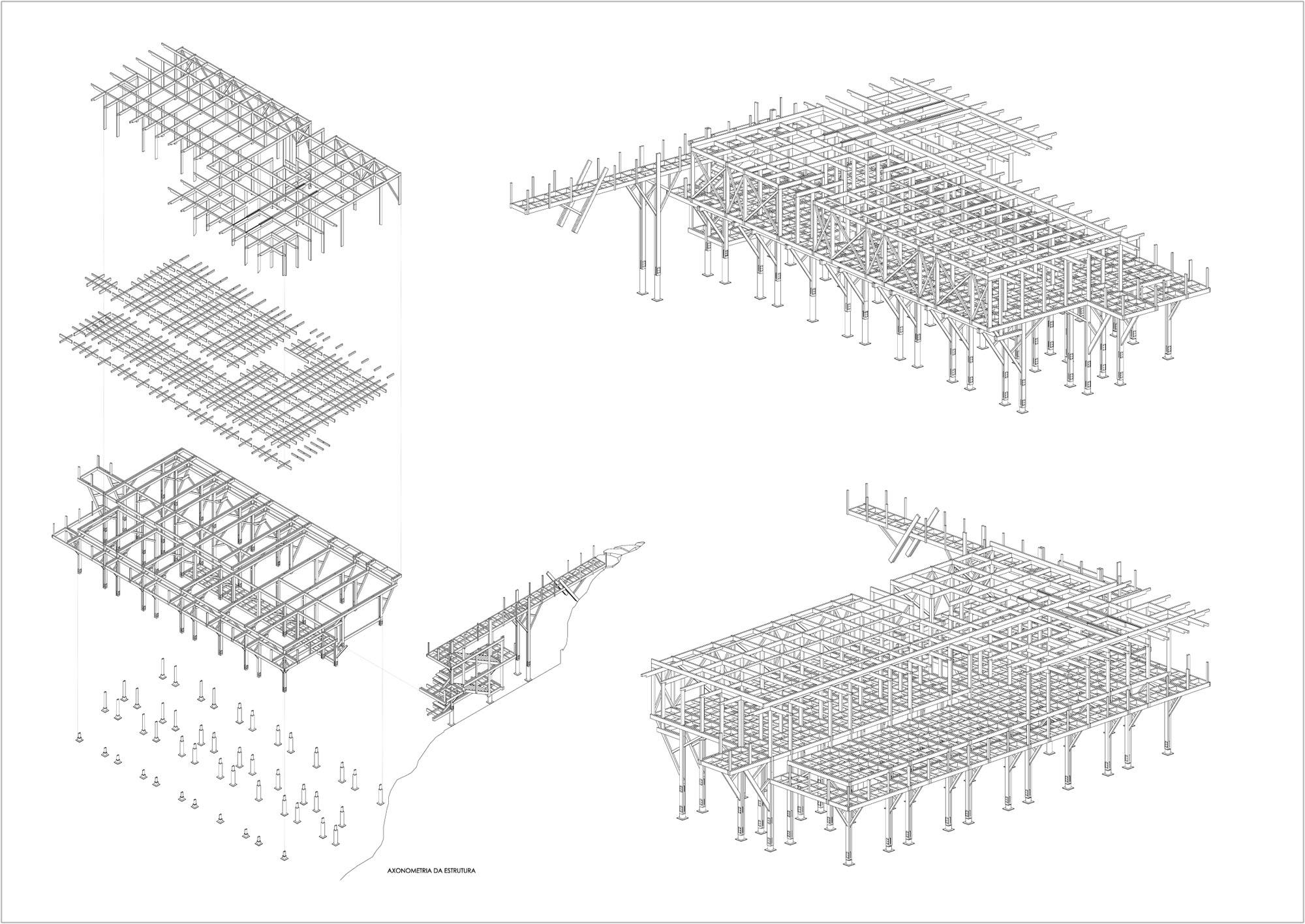1867336802_wooden-structure-axo wooden structure axo