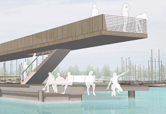 ASTOC Architects wins first prize for Senftenberg Harbor competition